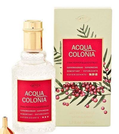 Одеколон 4711 PINK PEPPER & GRAPEFRUIT COLOGNE 50мл.