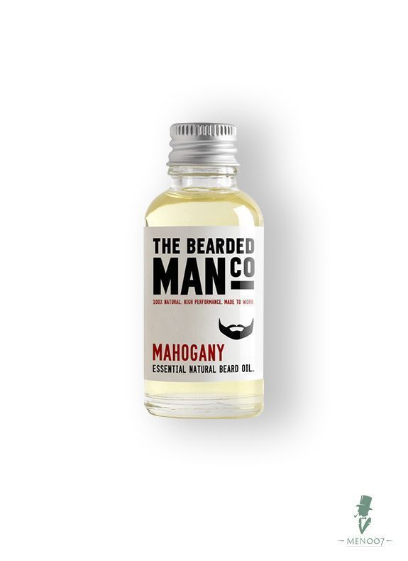 Масло для бороды The Bearded Man Company, Mahogany (Махогон), 30 мл