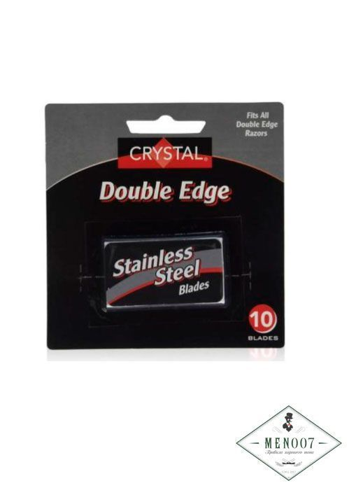 Лезвия Crystal Super + Stainless Steel Platinum Coated Double Edge Safety 10шт.