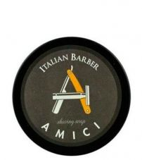 Мыло для бритья Italian Barber Amici Shaving Cream Soap 150мл.