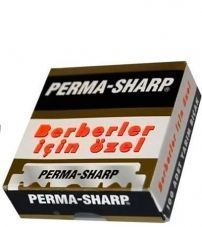 Лезвия для шаветт Perma-Sharp Single Edge Razor Blades -100шт.