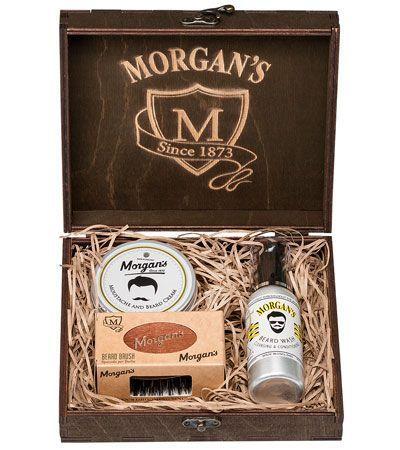 Премиальный подарочный набор для бороды Morgan