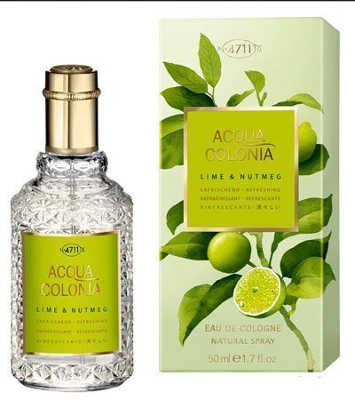 Одеколон 4711 LIME & NUTMEG COLOGNE 50мл.