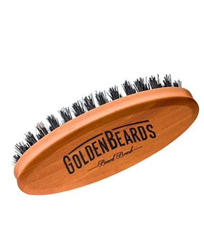 Щетка для бороды Goldenbeards Travel Beard Brush