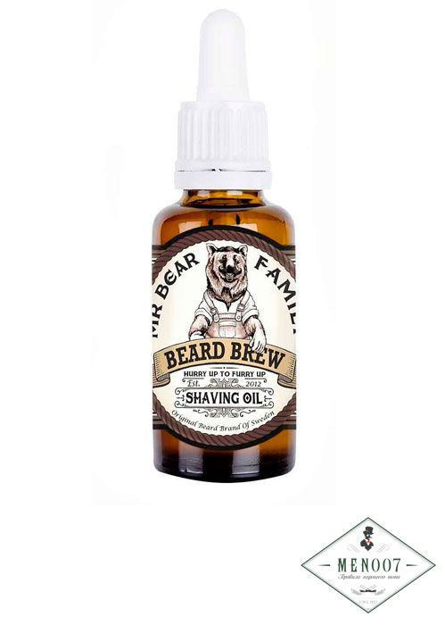 Масло для бритья Beard Brew Shaiving Oil-30мл.