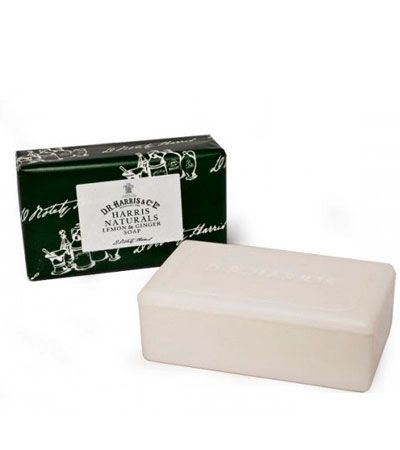Мыло D R Harris Naturals Ginger and Lemon Soap 200g