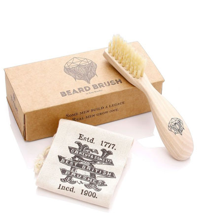 Щётка для усов и бороды Kent Beard Brush