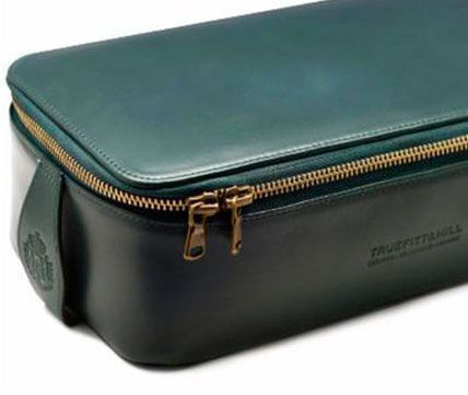 Косметичка мужская Truefitt & Hill Regency Box Wet Pack Green