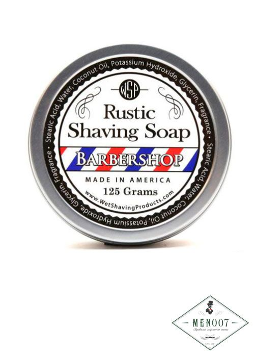 Мыло для бритья Wsp Rustic Shaving Soap Barbershop 125гр.