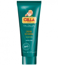 Крем для бритья Cella Bio Aloe Vera- 150ml Tube