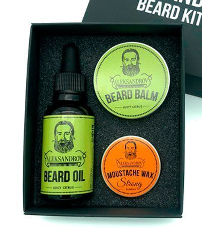 Набор для бороды и усов Aleksandrov Beard Kit №8