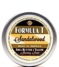 Мыло для бритья Wsp Formula T Shaving Soap Sandalwood 125 гр.