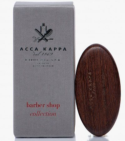 Щетка для бороды Acca Kappa Barber Shop White
