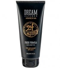 Дезодорант и гель для душа Dream Catcher Fresh formula 24 active Hair & body 200мл.