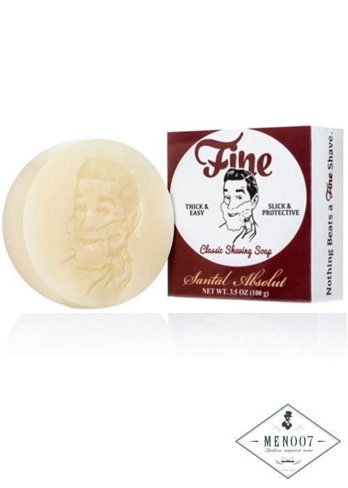 Мыло для бритья Fine Classic Shaving Soap (Refills) - Santal Absolute -100гр.