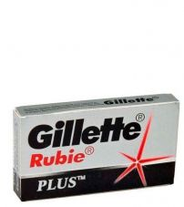Сменные лезвия Gillette Rubie Plus Double Edge Blades -5шт.
