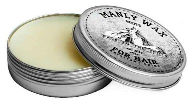 "Воск для волос MANLY WAX ""WHITE"" 50 МЛ"