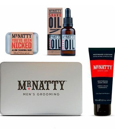 Набор для бритья Mr.Natty Uplimate Shave Tin