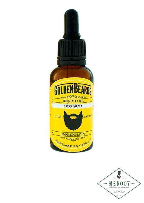 Масло для бороды Goldenbeards Organic Oil Big Sur