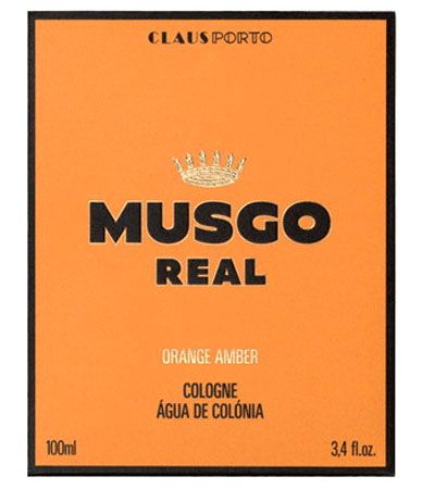 Одеколон Musgo Real, Orange Amber, 100 мл