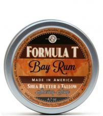 Мыло для бритья Wsp Formula T Shaving Soap Bay Rum 125гр.