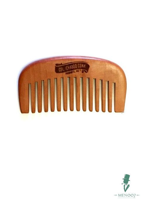 Гребень для бороды Col Conk Small Wood Beard Comb