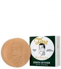 Мыло для бритья Fine Classic Shaving Soap (Refills) - Green Vetiver -100гр.