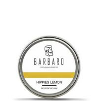 Воск для усов хиппи-лимон Barbaro Wax Hippies lemon - 12 гр
