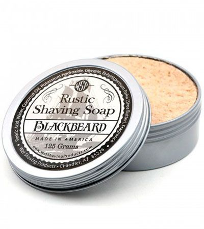 Мыло для бритья Wsp Rustic Shaving Soap Black Beard -125гр.