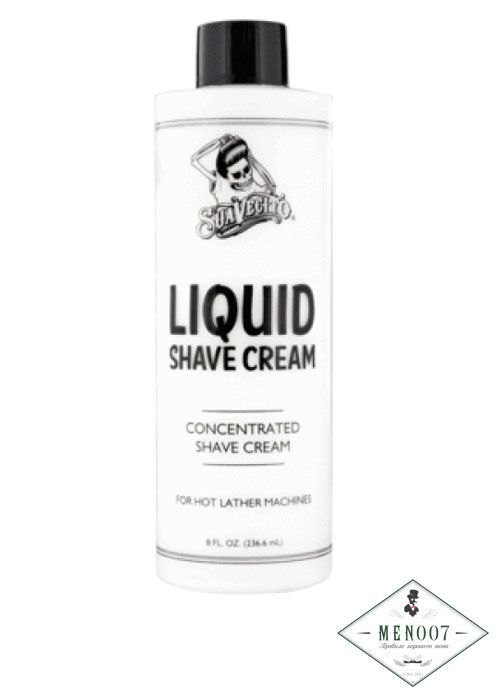 Крем для бритья SUAVECITO LIQUID SHAVE CREAM -236мл.