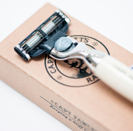 Бритва Gillette Mach 3 Captain Fawcett Finest Hand Crafted Safety Razor