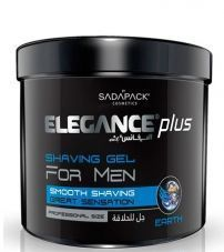 Гель для бритья Elegance Plus Shaving Gel Earth - 1000 мл