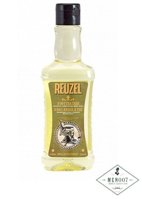 Шампунь 3 в 1 Reuzel Tea Tree Shampoo -1000 мл.