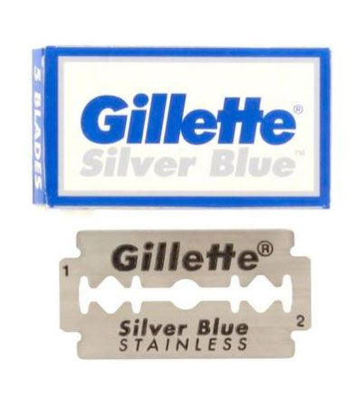 Лезвия Gillette Silver Blue 5шт
