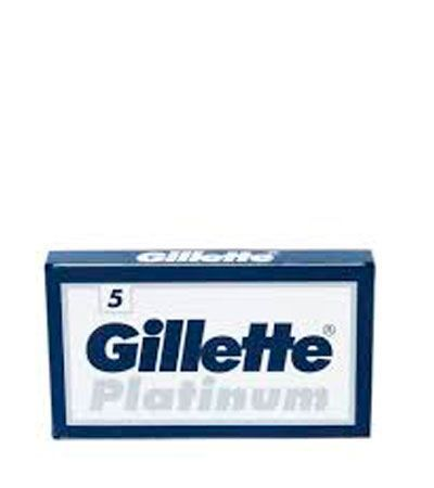 Сменные лезвия Gillette Platinum Double Edge Blades -5шт.