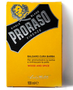 Бальзам для бороды Wood and Spice Proraso 100 мл.