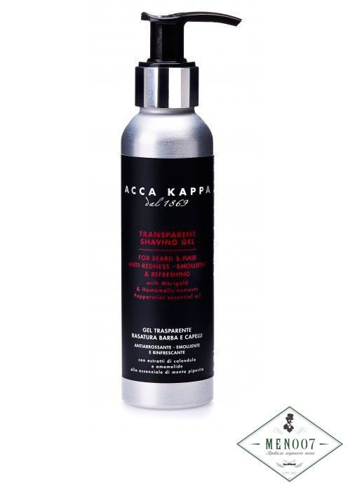 Гель для бритья Acca Kappa Shaving Transparent 125ml