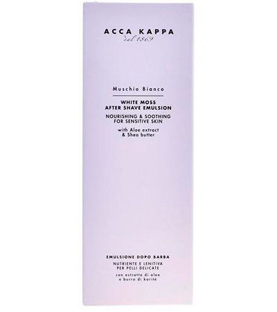 Эмульсия  после бритья Acca Kappa White Moss Sensitive Skin 125ml