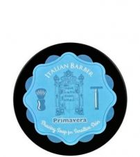 Мыло-крем для бритья Italian Barber Primavera Shaving Cream Soap 128мл.