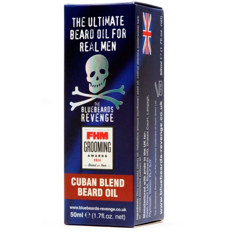 Масло для бороды The Bluebeards Revenge Cuban Blend 50мл.