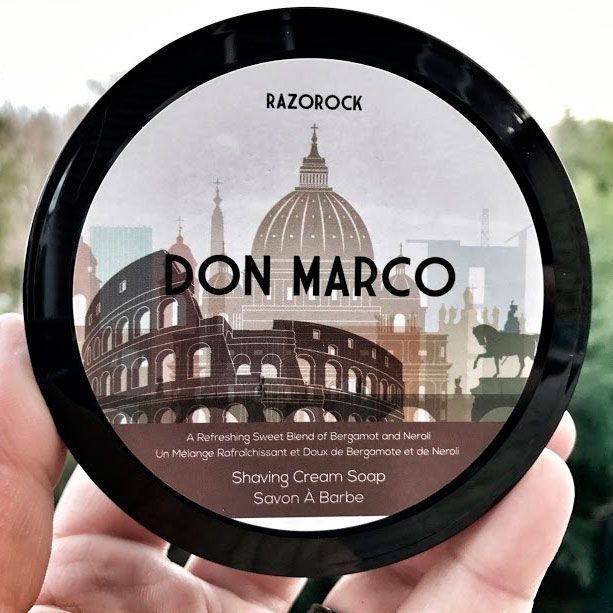 Мыло-крем для бритья Razorock Don Marco Shaving Cream Soap 150 Мл