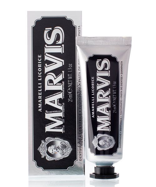 Зубная паста Marvis (Лакрица Амарелли) Amarelli Licorice Travel Size 25ml