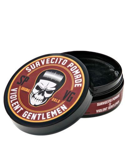 Помада для волос SUAVECITO X VIOLENT GENTLEMEN ORIGINAL HOLD -85гр.