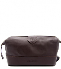 Косметичка мужская Truefitt & Hill Gentleman`s Wash Bag / Brown