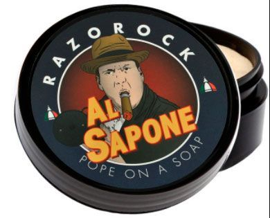 Мыло-крем для бритья Razorock Al Sapone Shaving Cream Soap 125мл.