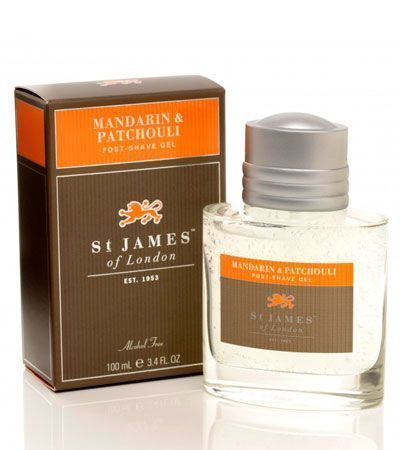 Одеколон St. James Of London Mandarin & Patchouli (Безспиртовой) -50мл.