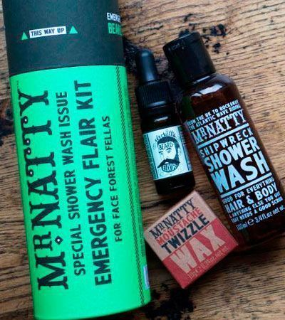 Набор джентельмена Mr.Natty Emergency Shower Flair Kit