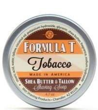 Мыло для бритья Wsp Formula T Shaving Soap Tobacco 125гр.