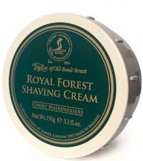 Мыло-крем для бритья Taylor of Old Bond Street Royal Forest Shaving Cream-150мл.