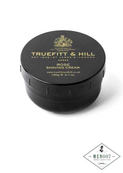 Крем для бритья в банке Truefitt & Hill Rose